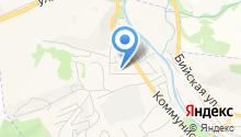 Горно-Алтайская ПМК на карте