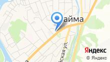 Майминская центральная районная больница на карте