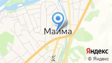 Управление социальной поддержки населения Майминского района на карте