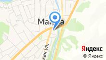 УДАЧА на карте