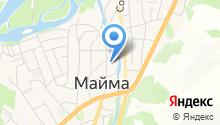 Отделение ГИБДД отдела МВД России по Майминскому району Республики Алтай на карте