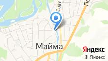 Мандаринка на карте