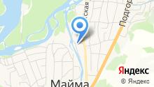 Владимирская банька на карте