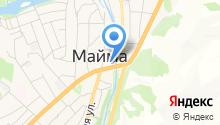 Муниципальный отдел полиции Майминского района на карте