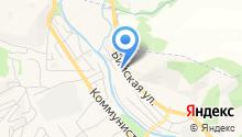 Главная дорога на карте