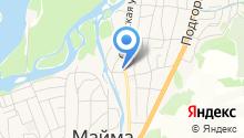 Горно-Алтайская на карте