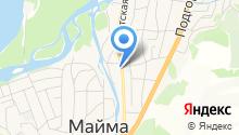 Сивена на карте