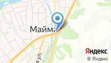 Кумир на карте