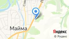 Автомойка на Чуйском на карте