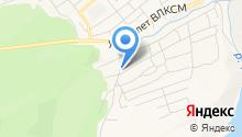 Беляевский на карте