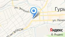 Шиномонтажная мастерская на ул. Суворова на карте