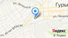 УВД г. Гурьевска на карте