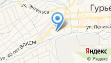 Отдел МВД России по Гурьевскому району на карте