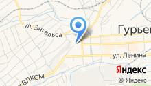 Финансовое управление по Гурьевскому району на карте