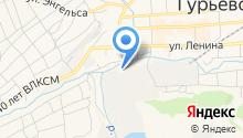 Управление социальной защиты населения администрации Гурьевского муниципального района на карте