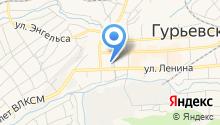 Многофункциональный центр предоставления государственных и муниципальных услуг Гурьевского муниципального района на карте