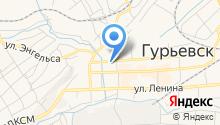 Гурьевская межрайонная прокуратура на карте