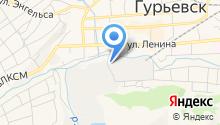 Гурьевский металлургический завод на карте