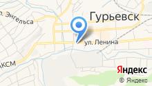 Администрация Гурьевского муниципального района на карте