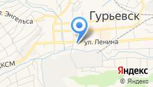 Информационно-методический центр в системе дополнительного педагогического образования (повышения квалификации) Гурьевского муниципального района на карте