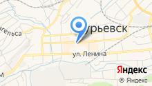 Следственный отдел по г. Гурьевску на карте