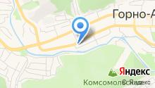 Управление пенсионного фонда РФ в г. Горно-Алтайске на карте