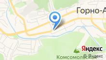 Алтайский марал на карте