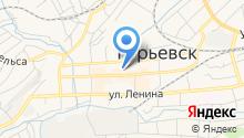 ЗАГС г. Гурьевска и Гурьевского района на карте