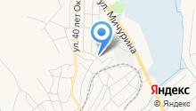 Общеобразовательная школа-интернат №6 на карте
