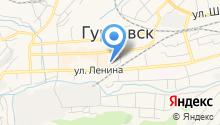 Центр занятости населения г. Гурьевска на карте