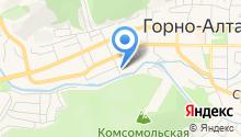 Объединение организаций профсоюзов Республики Алтай на карте