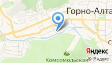 Алтайская Республиканская организация профсоюза работников здравоохранения РФ на карте