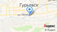Комитет по управлению муниципальным имуществом Гурьевского муниципального района на карте