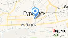 Комитет по физической культуре, спорту, туризму, молодежной политике администрации Гурьевского муниципального района на карте