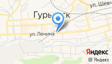 Отдел надзорной деятельности Гурьевского района на карте