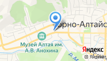Территориальный фонд обязательного медицинского страхования Республики Алтай на карте