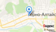 Горно-Алтайская типография на карте