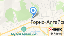 Министерство труда и социального развития Республики Алтай на карте