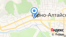 Городская прокуратура г. Горно-Алтайска на карте