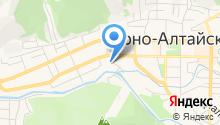 Горно-Алтайская тепловая компания на карте