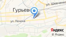 Гурьевская центральная районная больница на карте