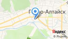 Логос, НП на карте