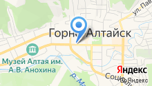 Центр детского творчества г. Горно-Алтайска на карте