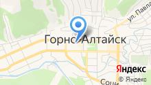 Отделение скорой медицинской помощи Республики Алтай на карте