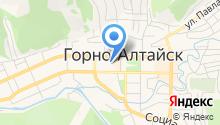 Станция скорой медицинской помощи Республики Алтай на карте