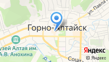 Ассоциация парикмахеров Республики Алтай на карте