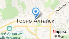 Администрация г. Горно-Алтайска на карте