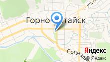 Комитет по делам архивов Республики Алтай на карте