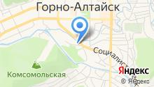 Горно-Алтайская строительная компания на карте