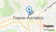 Центр молодежной политики, военно-патриотического воспитания и допризывной подготовки граждан в Республике Алтай на карте